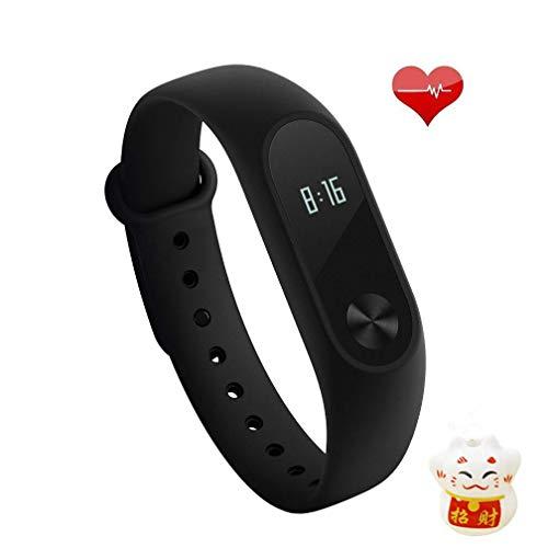 Xiaomi Mi Band 2 Fitness Smartband, Pulsera de actividad, con monitor de...