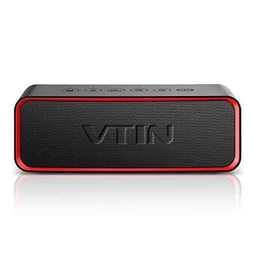 VTIN R2 Altavoces portátiles Bluetooth, Altavoz portátil IPX6 a Prueba de...